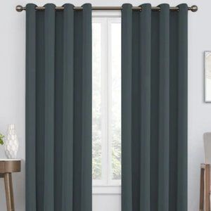 Eclipse Green Blackout Curtains - 1 Pair - 84 long
